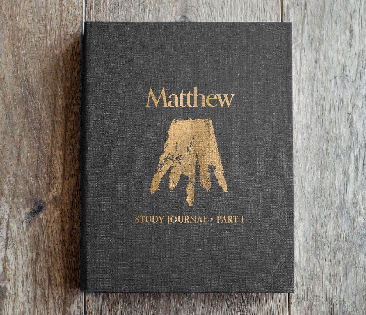 Matthew Study Journals